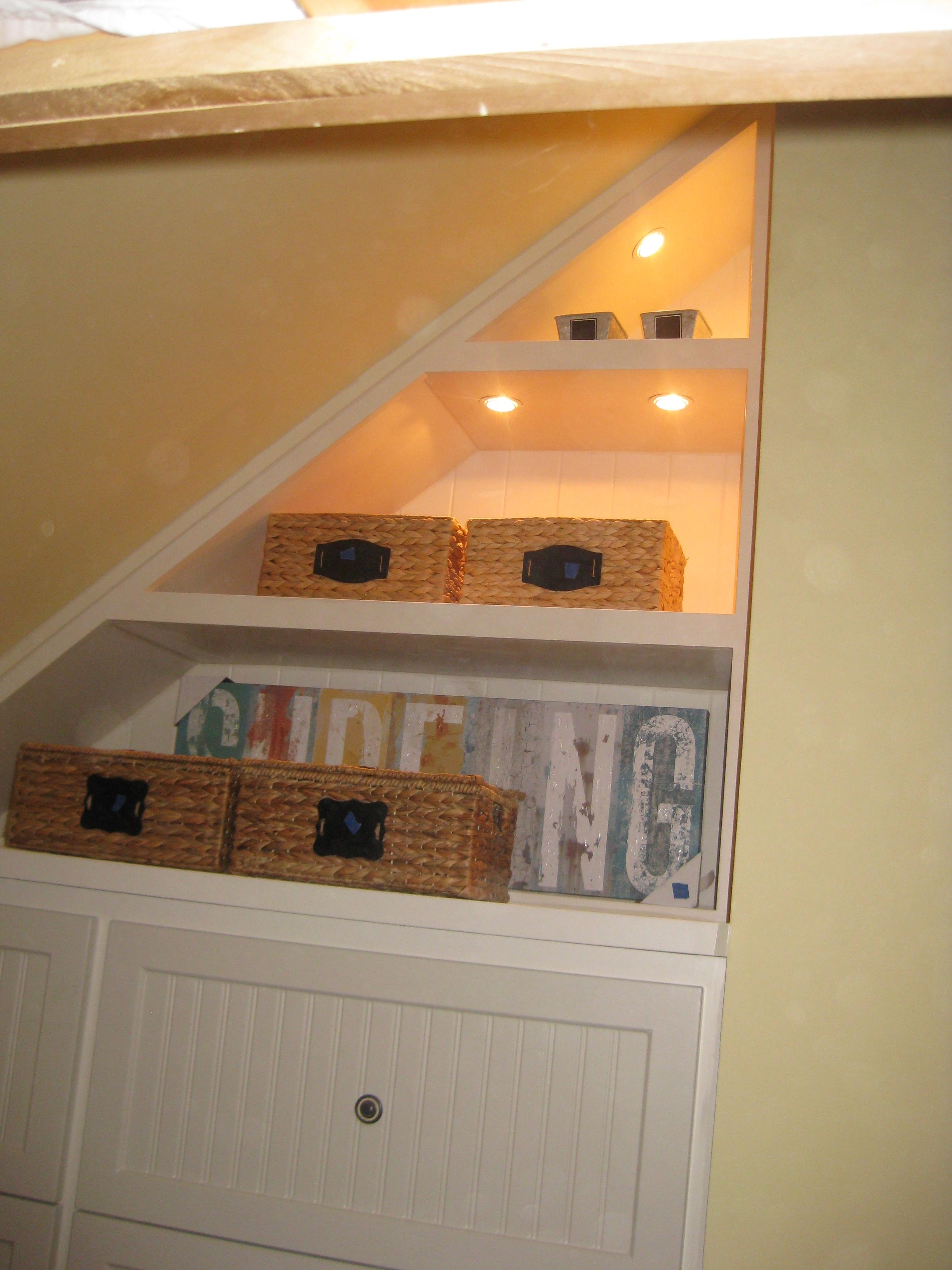 Angled Ceiling Cabinet - Dresser/Display