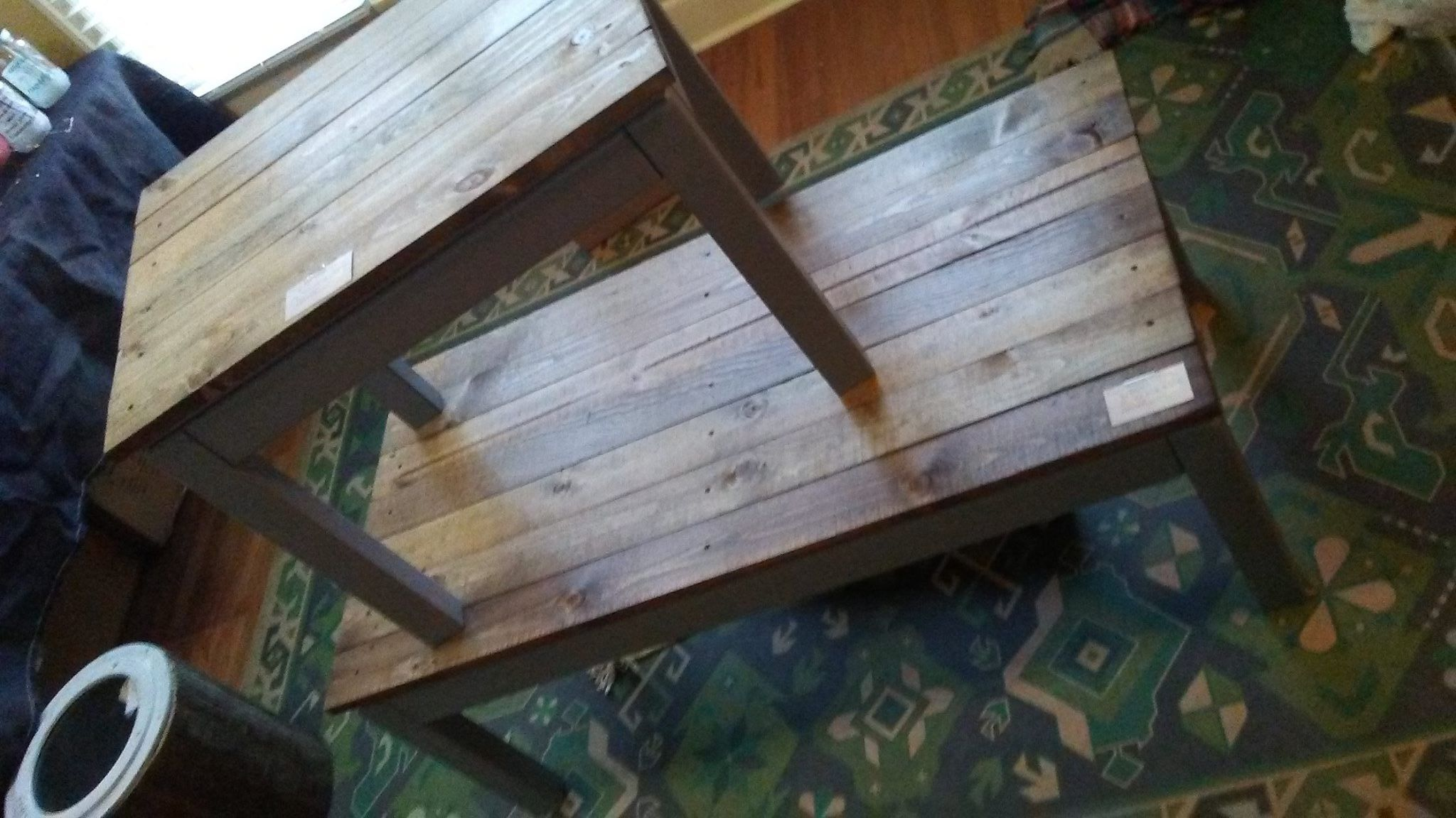 Rustic End and Coffee table