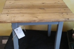 Small Rustic End Table